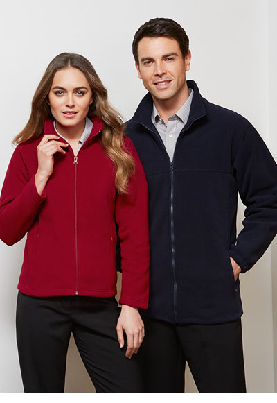 PF630 Men's Plain Microfleece Jacket